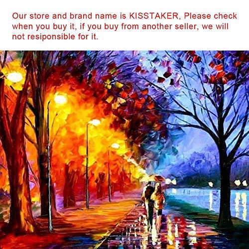 Kisstaker 25x25cm 5D Beautiful Girl with Butterfly DIY Diamond Painting Rhinestone Cross-stitch Kit