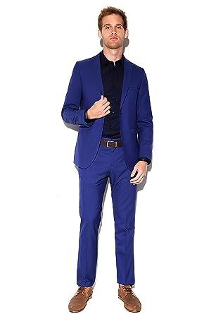 LOB- Saco Azul Rey Saco para Hombre Azul Talla 04  Amazon.com.mx  Ropa 844071b80cf