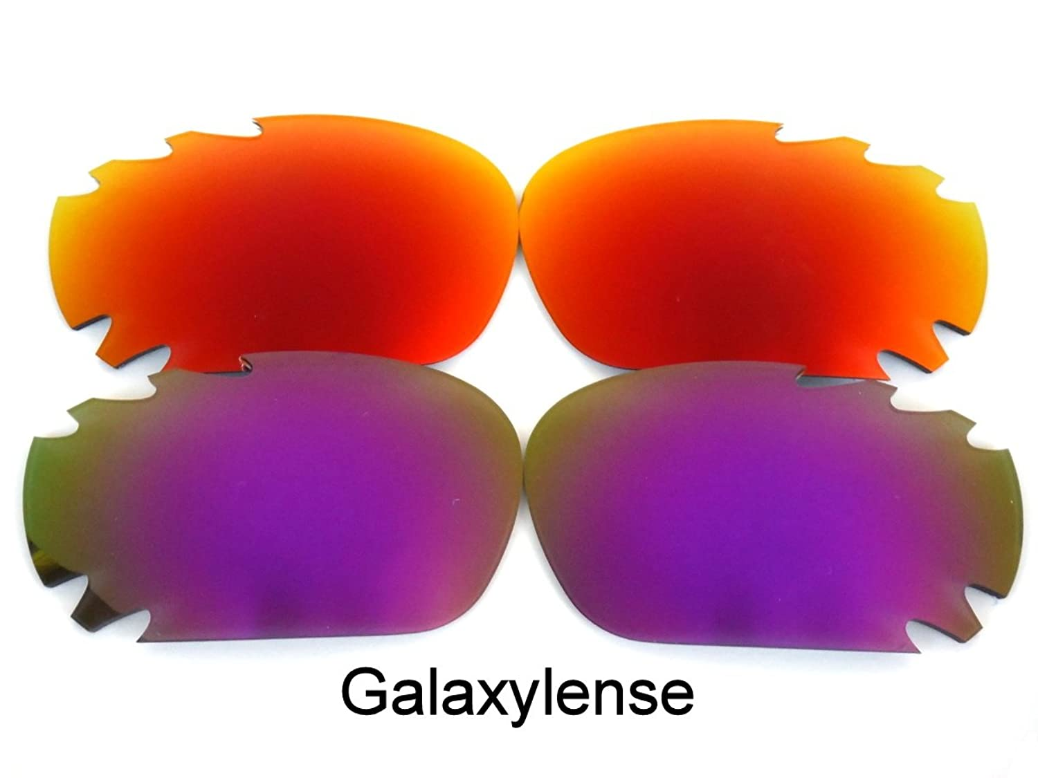 9d3d58a8d8 60%OFF Galaxy Replacement Lenses For Oakley Jawbone Purple Red Color  Polarized 2 Pairs 100%