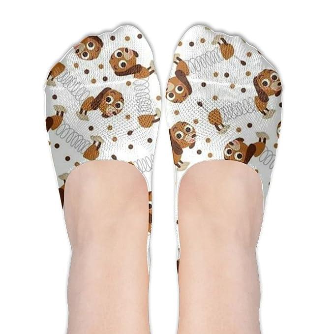 Sausage Dog Dachshund Anti-Slip No Show Socks Women men Cheap Ankle Low Cut 0f4bc5e2e