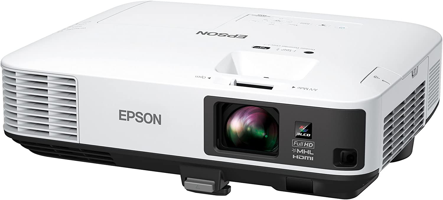 Epson Home Cinema 1450 1080p 4,200 lumens Color Brightness (Color Light Output) 4,200 lumens White Brightness 3LCD Projector with MHL (Certified Refurbished)