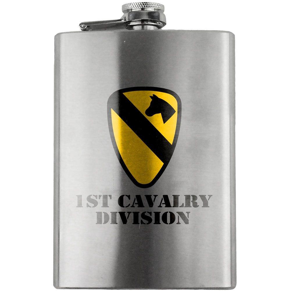 【国産】 Army Army 1st騎兵Divisionフルカラー8オンス B00ZD8UT6O。フラスコ B00ZD8UT6O, インテリア通販Reliable:674149c9 --- newsdarpan.in
