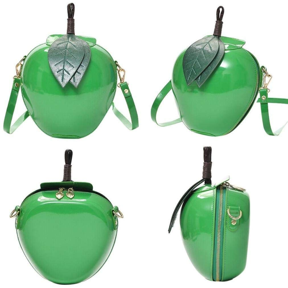 Eeayyygch Eeayyygch Eeayyygch Damen Fashion Apple Handtasche Reißverschluss Schultertasche Tote Damen Messenger Bag 1 Stück grün B07MFP52XB Schultertaschen Zuverlässige Leistung 67dc98