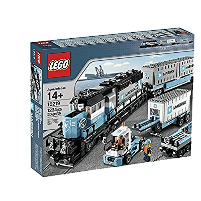 LEGO Creator Maersk Train 10219 (Discontinued by manufacturer): Toys & Games