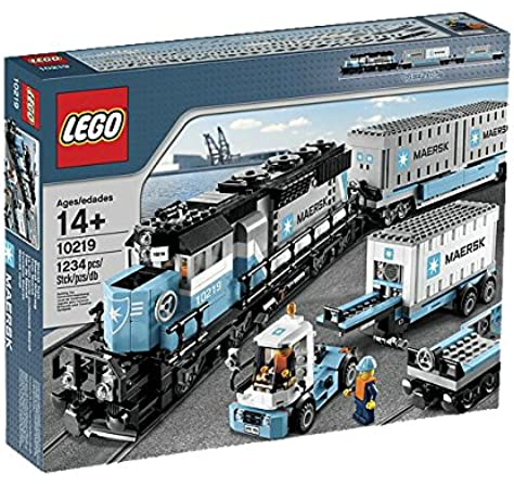 New sealed box complete original LEGO City Trains 60198 Freight train
