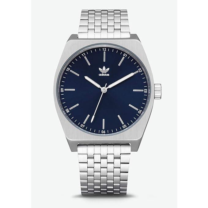 Adidas Reloj Analógico para Hombre de Cuarzo con Correa en Acero Inoxidable Z02-2928-00: Amazon.es: Relojes