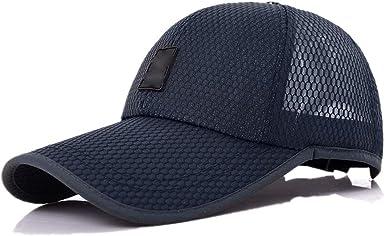 Herren Mesh Baseball Caps Basecap Mütze Sport Baseballcap Kappe Trucker Outdoor