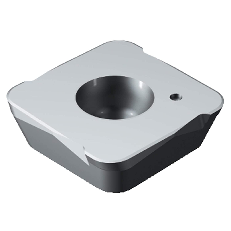 Pack of 10 Sandvik Coromant 490R-140408E 6190 Coro Mill 490 Insert for milling Ceramic Square Right Hand Cut 6190 Grade Uncoated Wiper