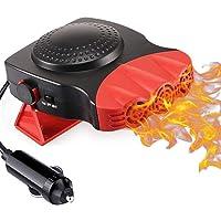 $32 » Car Heater, 12V 150W Portable Car Heater Windshield Fast Heating Defrost Defogge 2…