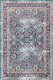 nuLOOM RZSW10A Persian Isela Area Rug, 8' x 10', Blue