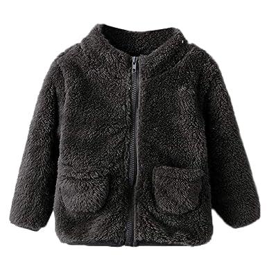 121d7a0b3 Zerototens Baby Girls Fleece Jacket