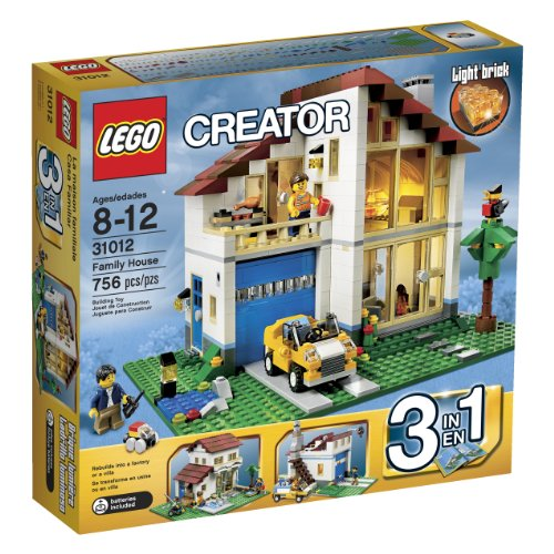 LEGO Creator Family House (31012) (Discontinued by manufacturer) (Lego Creator 3 In 1 Seaside House 7346)
