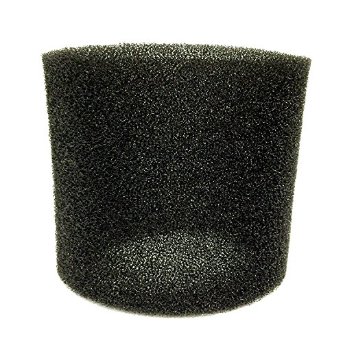 - Miss Flora Foam Filter Sleeve Fits Most Shop Vac Wet / Dry models Replaces 90585 9058500 90585-00 Foam Sleeve 17888 Black Film Cannisters made and shipping by Miss Flora