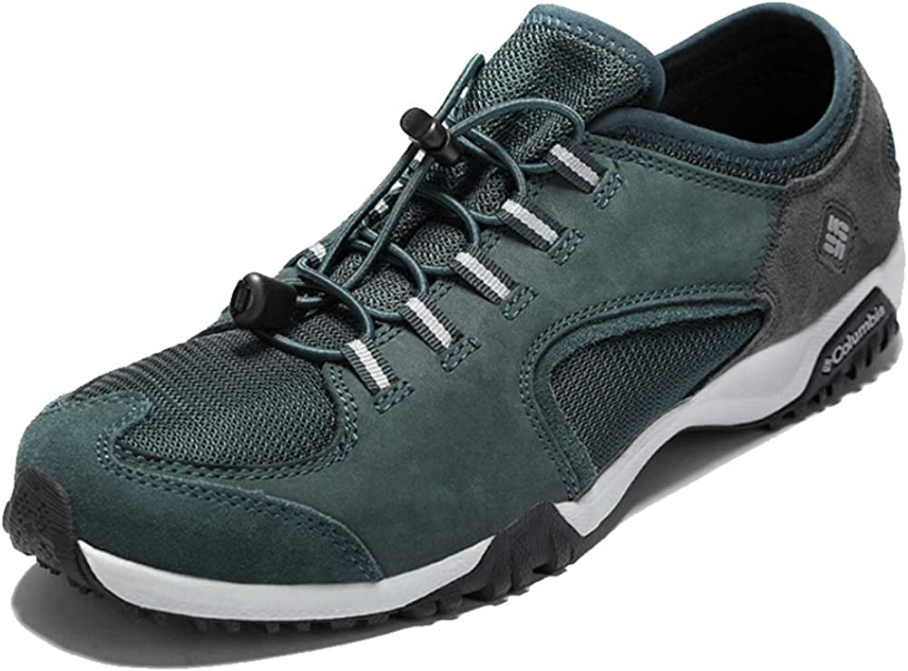 SHUX Hiking Shoes Low to Help Waterproof Non-Slip Breathable wear Hiking Hiking shoes-blue-42
