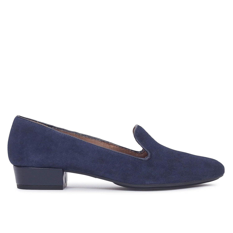 Slipper - Zapato Slipper de Mujer Azul Marino: Amazon.es: Zapatos y complementos