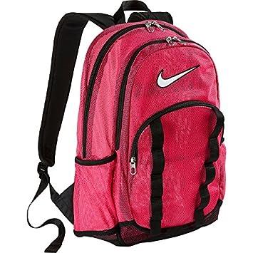 59cffac6e7 Nike Brasilia 7 Mesh Large Backpack (Vivid Pink Black White