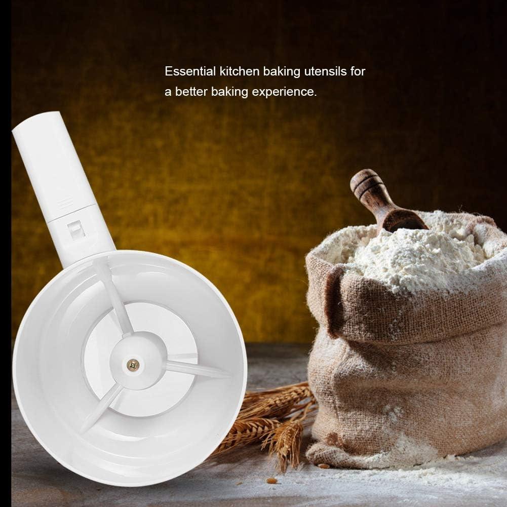 Tamiz de harina Tamiz de Alimentos Tamiz de Mano el/éctrico Tamiz de harina Tamiz de harina Cocina Cocina Hornear Pasteler/ía Herramientas