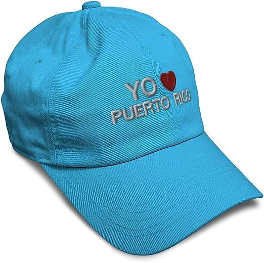 WFIRE Adult Baseball Caps Puerto Rico Flag Custom Adjustable Sandwich Cap Casquette Hats