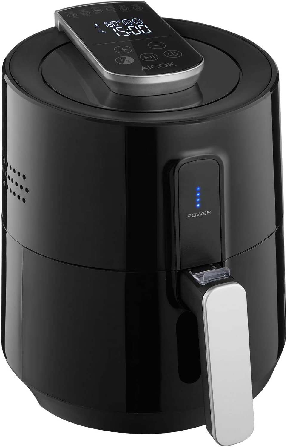 Aicok Air Fryer, Hot Airfryer with Time & Temperature Control, Digital Touchscreen, Oil Less Fryer Healthy Food & Fast Cooking, 1300W Rapid Air Circulation, Detachable Fry Basket …