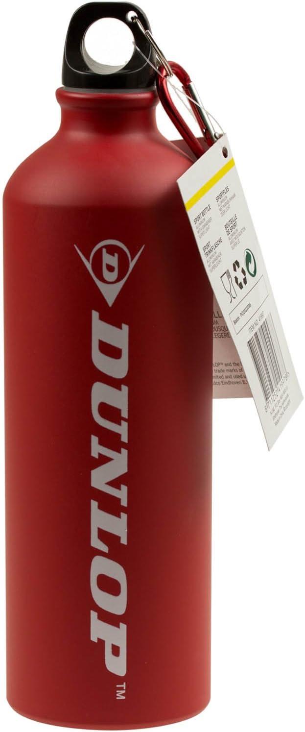 750 ml Dunlop Botella cantimplora aluminio bicicleta botella ...