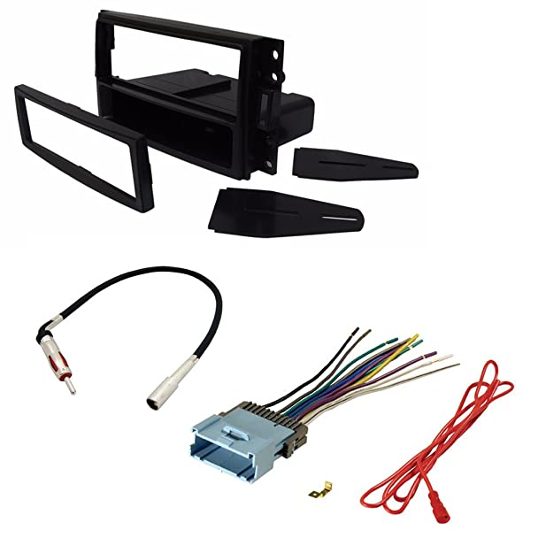 61YpYbmmPCL._SX608_ amazon com car stereo radio cd player receiver install mount kit Wire Harness Assembly at gsmx.co