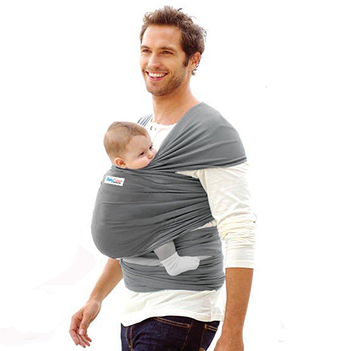 Echarpe de portage porte-bébé 4 en 1   porteur de bébé pour homme et femme    foulard élastique pour bébés   le meilleur cadeau pour la fête de  Bienvenida du ... aea05c67a2d