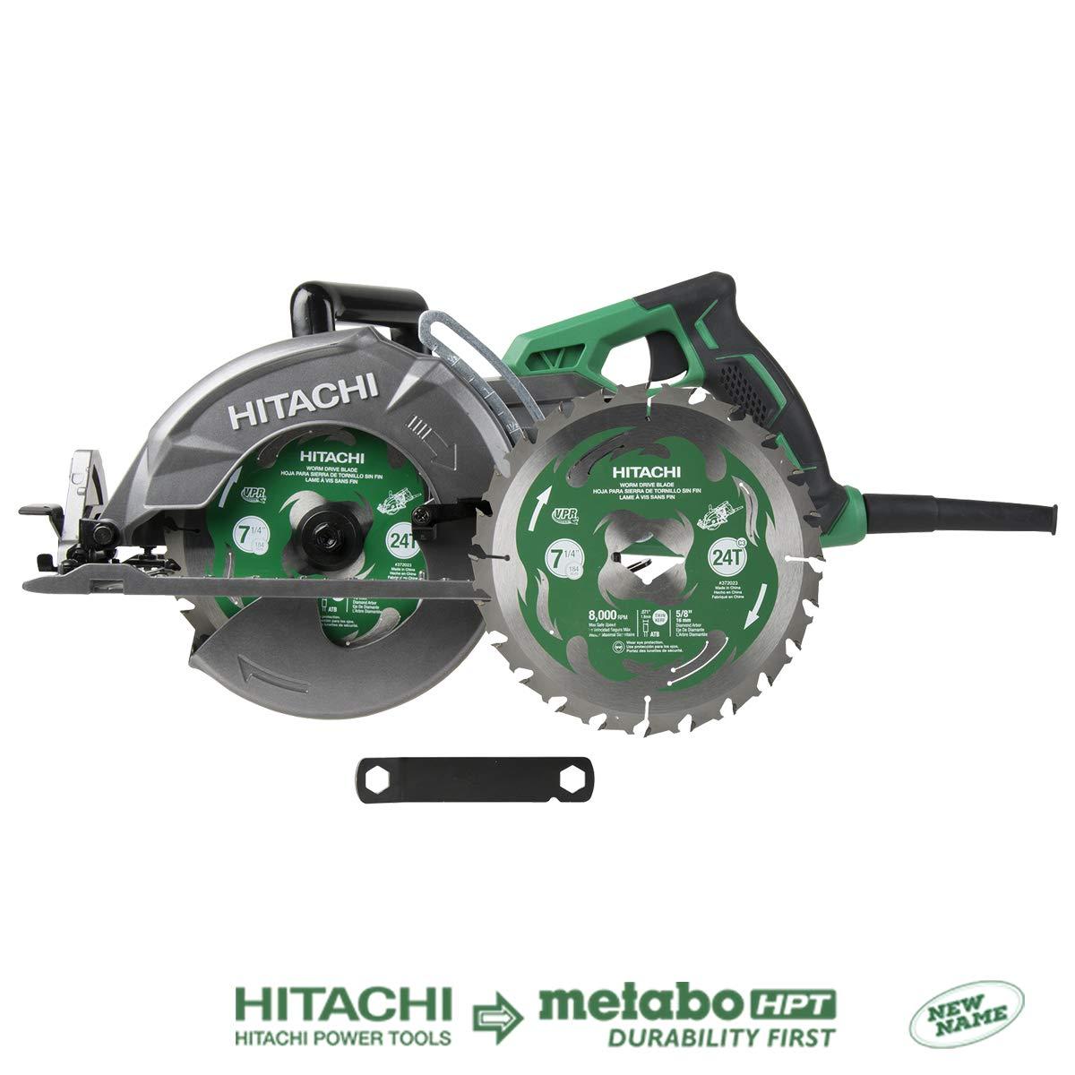8. Hitachi C7WDM Worm Drive Circular Saw