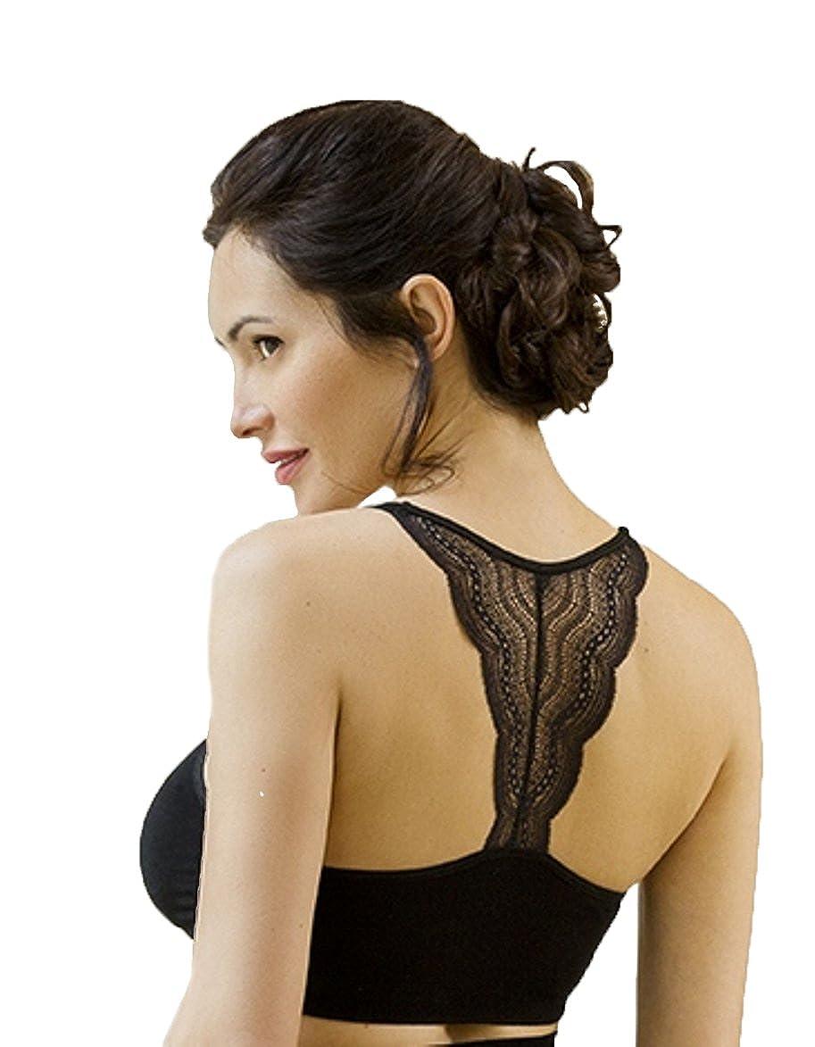 Cache Coeur Damen Umstands BH Serenity - Schwangerschafts-Bustier - Black SF1610