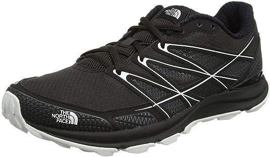 The North Face Litewave Endurance, Zapatillas de Running para Hombre, (TNF Black/TNF White), 40.5 EU: Amazon.es: Zapatos y complementos