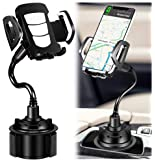Car Phone Mount Phone Holder for car Compatible with iPhone 11/11 Pro/Xs/XS Max / 8/7 / 6, Google Pixel 3 XL, Samsung…