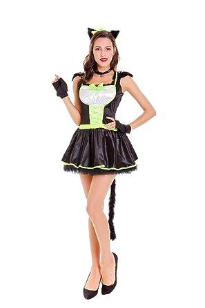 black pink catwoman clothing game uniform sexy lingerie cat girl uniform temptation halloween cosplay costume