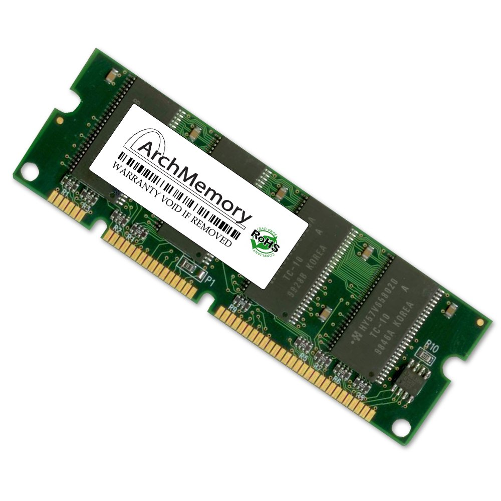 Arch Memory 128MB Q9121A 128MB 100-Pin DIMM RAM for HP Printers by Arch Memory