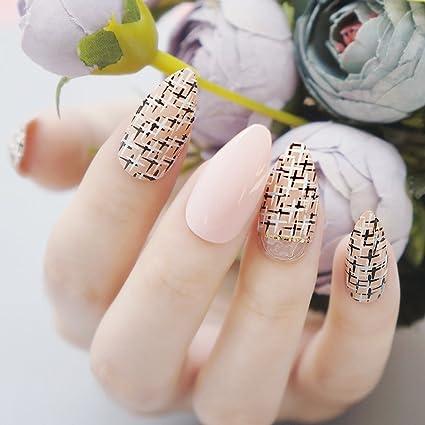 jovono Stiletto postizas uñas postizas para las mujeres y las niñas ...