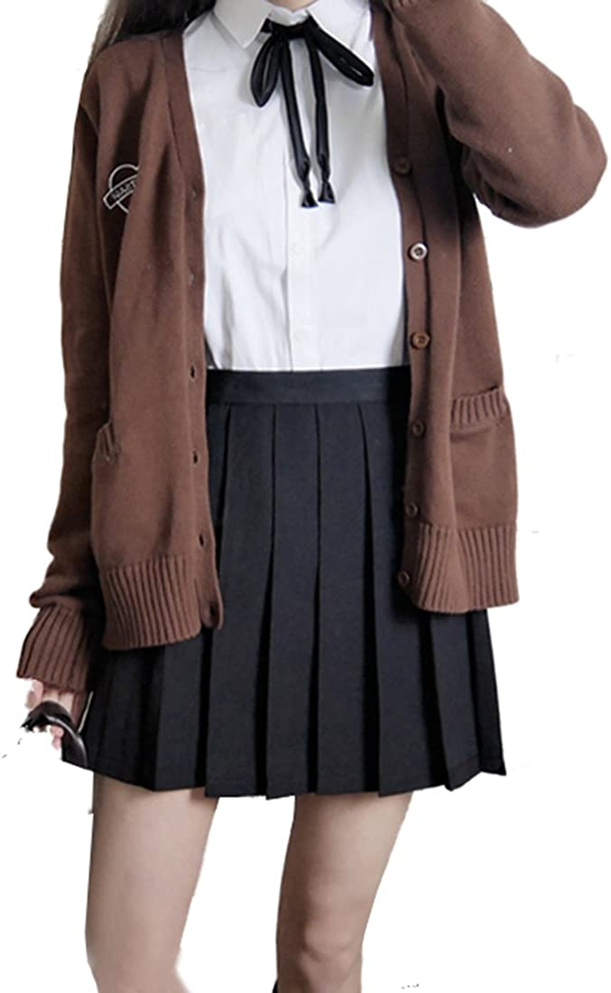Beautifulfashionlife Women's Japan high Waisted Pleated Cosplay Costumes Skirts: Clothing