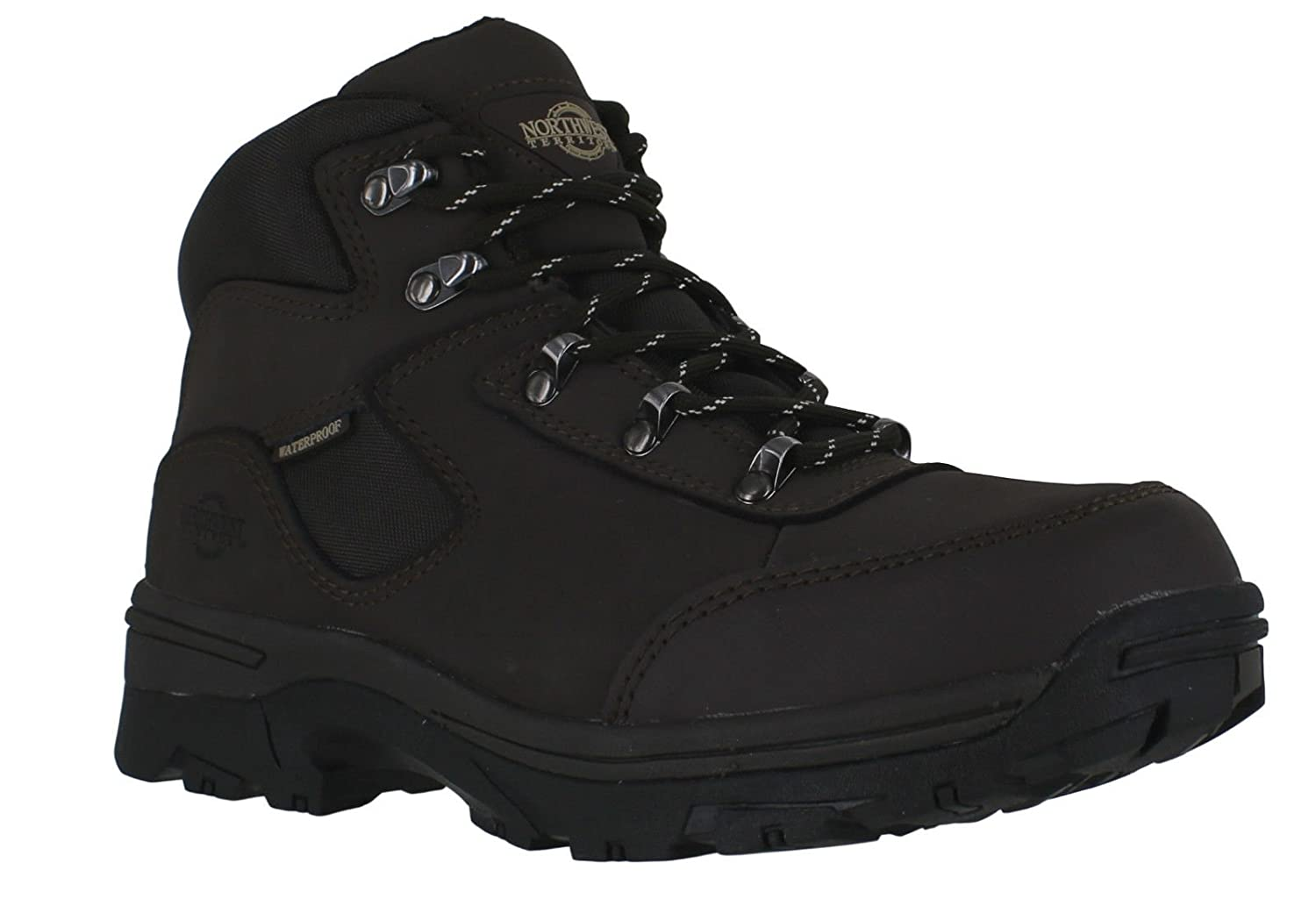 Ladies Walking/Hiking Boot, tormenta totalmente impermeable Lace Up Piel/Nailon superior STORM