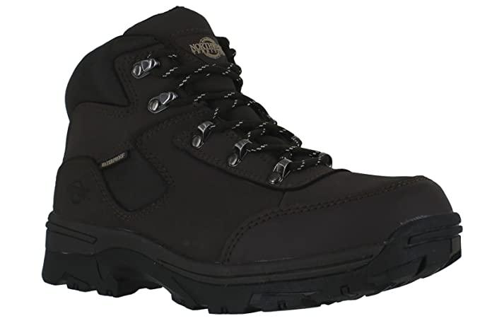 cae09d29209 Northwest Territory Ladies Walking/Hiking Boot, Storm Fully Waterproof Lace  UP Leather/Nylon Upper