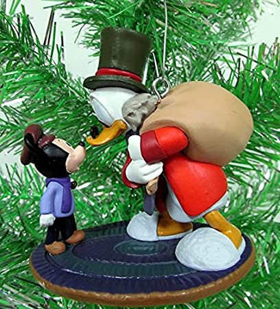 Scrooge Mcduck Christmas.Amazon Com Disney Mickeys Christmas Carol Scrooge Mcduck As