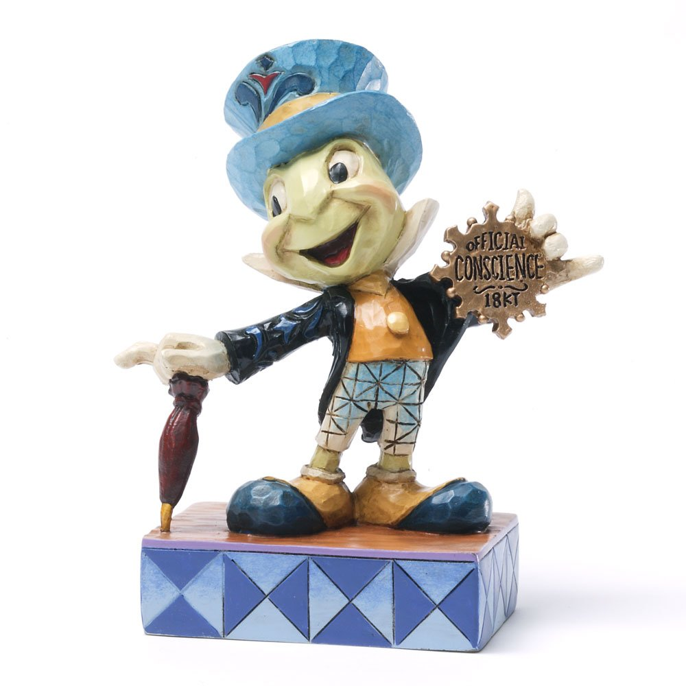 Amazoncom Disney Traditions by Jim Shore Jiminy Cricket from