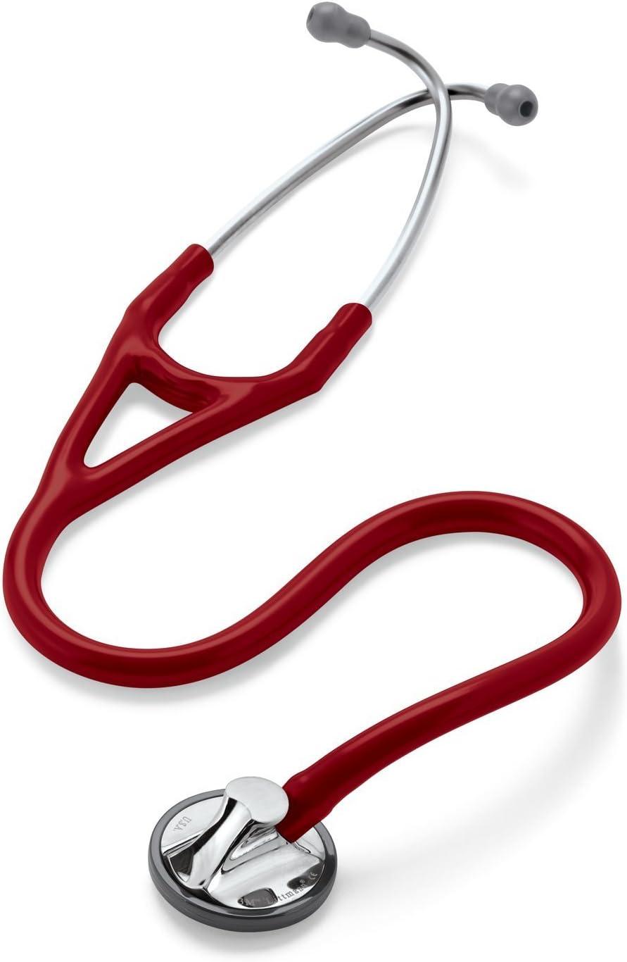 Fonendoscopio Littmann Master Cardiology con Grabado Incluido (Varios colores) (Rojo Burdeos)