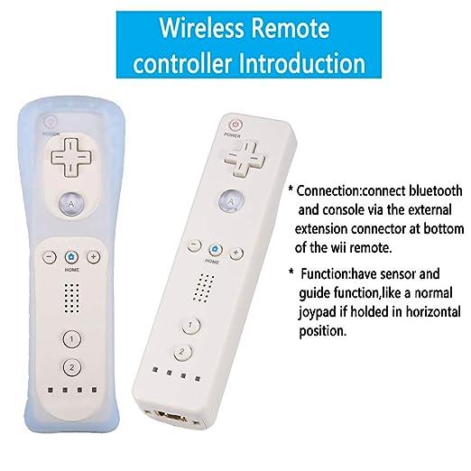 Amazon.com: Lactivx 1 Pack Nunchuck y Wii Mando a distancia ...