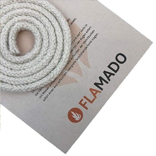 Flamado - Junta para Horno (cerámica, Cristal de 10 mm, 3 m ...