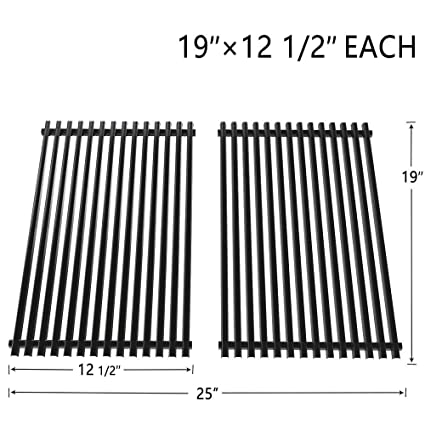 """SHINESTAR Grill Grates 19"""" Replacement Parts for Brinkmann, Charbroil, Sterling, Turbo,"""