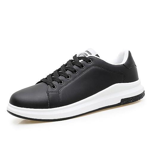 Otoño/Verano 2018 Zapatillas de Deporte de Moda para Hombre y Mujer Nuevo Estilo Zapatillas Deportivas de Color Puro para Boca Abierta: Amazon.es: Zapatos y ...