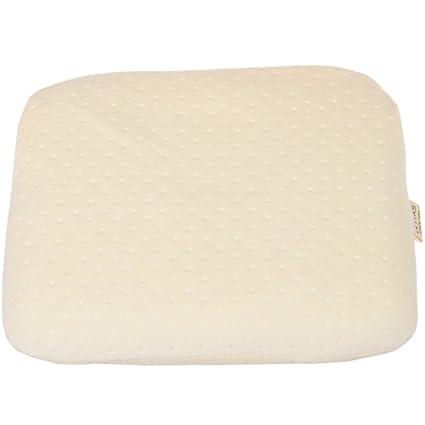 lettas bebé saco de dormir apoyo almohada de espuma con efecto memoria almohada, anti-