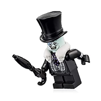LEGO The Penguin – Paraguas de piel blanca con diseño de Batman