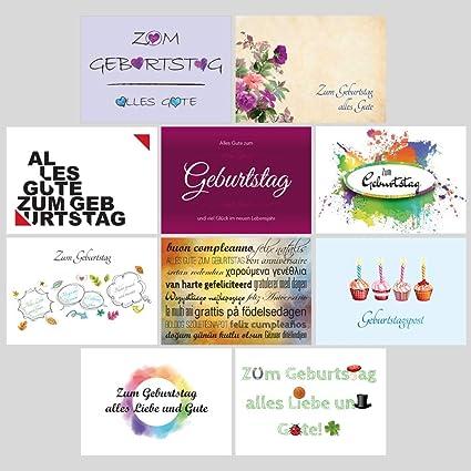 pricaro Cumpleaños de tarjetas postales