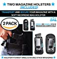 Neoprene IWB Inside The Waistband Pistol/Handgun Magazine Holster/Pouch | For Concealed Carry, Universal, Fits: Single/Double Stack Mags For Glock, Sig Sauer, S&W, Springfield, Ruger, 9mm/.45 & More