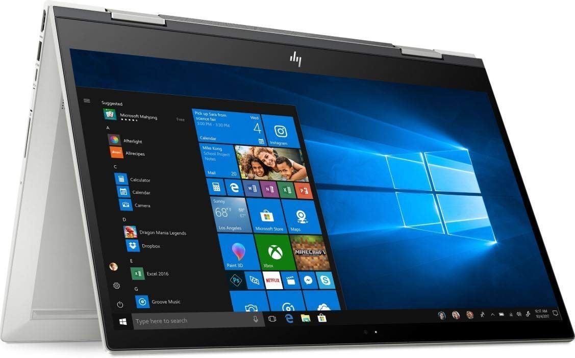"HP Envy x360 Convertible 2-in-1 15.6"" FHD IPS Multitouch Screen Laptop, Intel Quad Core i7-8550U Processor up to 4.0GHz, 16GB Memory, 2TB HDD, Backlit Keyboard, HP Pen, Windows 10"