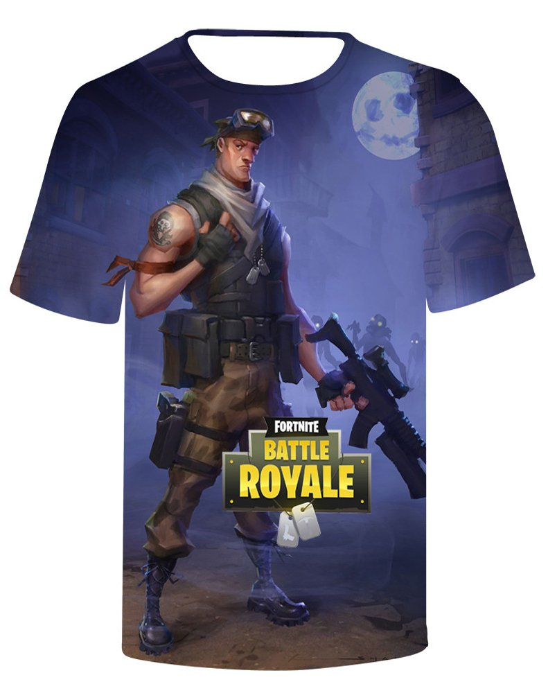 Socluer Camiseta de Impresión 3D Camiseta Impresión Digital Cool Gaming Tops para Hombres y Mujeres Unisex Fortnite… t8vIKbCfr