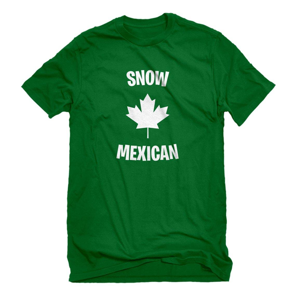 Indica Plateau Mens Snow Mexican T-Shirt 3684-M